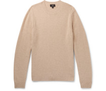 Cashmere And Yak-blend Sweater - Sand