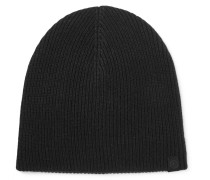 Ace Ribbed Cashmere Beanie
