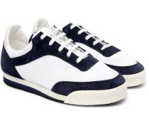 + Spalwart Pitch Suede-trimmed Canvas Sneakers