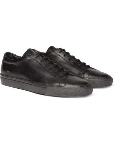 Original Achilles Leather Sneakers - Black