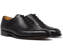 Appleton Cap-toe Leather Oxford Shoes - Black