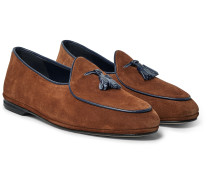 Marphy Suede Tasselled Loafers