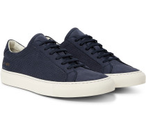 Achilles Perforated Nubuck Sneakers
