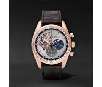El Primero Chronomaster 42mm 1969 Rose Gold and Alligator Watch, Ref. No. 18.2040.4061/69.C494