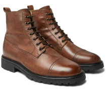 Alperton 2.0 Leather Boots - Brown