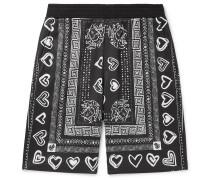 Printed Tech-Jersey Shorts