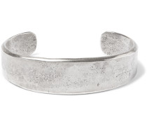 Burnished Sterling Silver Cuff