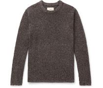 Bouclé-Knit Sweater