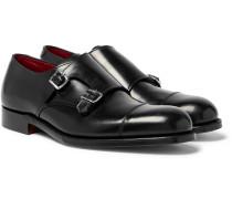 Hanbury Monk-strap Shoes - Black