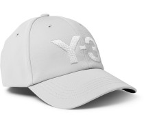 Logo-Embroidered Canvas Baseball Cap