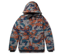 MacMillan Slim-Fit Camouflage-Print Quilted Arctic Tech Hooded Down Parka