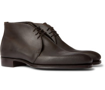 + George Cleverley Suede Chukka Boots