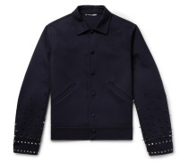 Studded Virgin Wool And Cashmere-blend Jacket