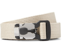 2.5cm Beige Alpinist Webbing Belt