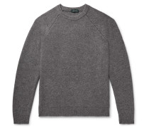 Slim-Fit Virgin Wool and Cashmere-Blend Sweater