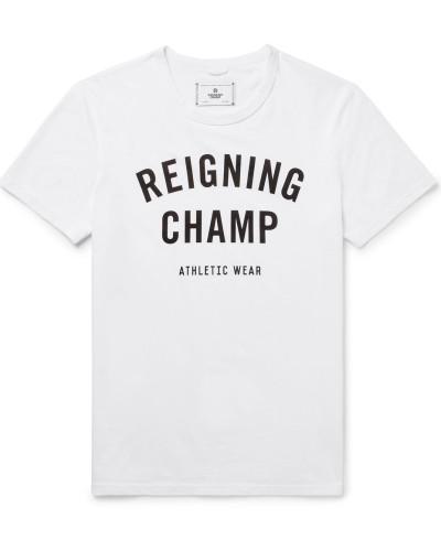 Printed Ring-spun Cotton-jersey T-shirt