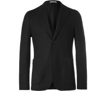 Black Double-faced Cashmere Blazer