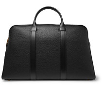 Full-grain Leather Briefcase - Black