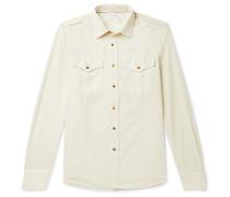 Cotton-corduroy Shirt - Off-white