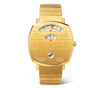 Grip 38mm Gold-Tone PVD-Coated Watch