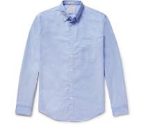Slim-fit Button-down Collar Pima Cotton Oxford Shirt