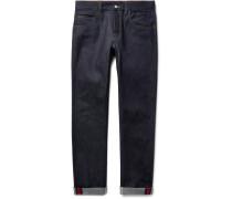 Slim-fit Stretch-denim Jeans - Blue