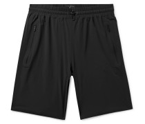 Stretch-nylon Shorts - Black