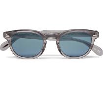 Sheldrake D-frame Acetate Sunglasses - Gray
