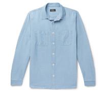 David Cotton-Chambray Shirt