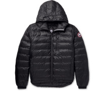 Lodge Packable Ripstop Shell Hooded Down Jacket