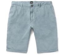 Rigan Garment-dyed Linen Shorts