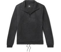 Contrast-trimmed Polartec Fleece Half-zip Sweater