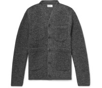 Mélange Wool-blend Cardigan