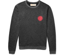 Country Sun Printed Loopback Cotton-blend Jersey Sweatshirt