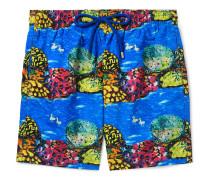 + Hunt Slonem Moorea Mid-Length Printed Swim Shorts