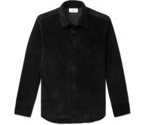 Cotton-Blend Corduroy Shirt