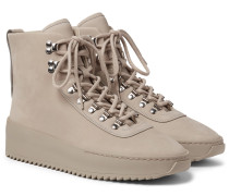 Nubuck High-top Sneakers
