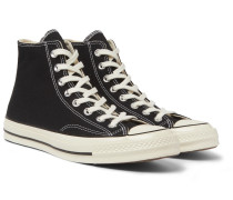 Chuck 70 Canvas High-top Sneakers - Black