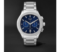 Polo S Chronograph 42mm Stainless Steel Watch - Blue