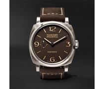 Radiomir 1940 3 Days Automatic Titanio 45mm Titanium And Leather Watch
