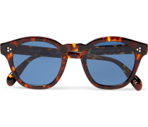Boudreau L.a D-frame Tortoiseshell Acetate Sunglasses - Brown