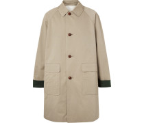 Oversized Cotton-gabardine Coat