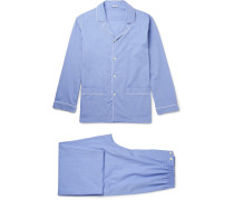 Mercerised Cotton Pyjama Set