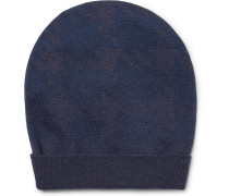 Two-tone Virgin Wool Beanie