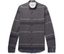 Isherwood Slim-fit Checked Stretch-cotton Shirt