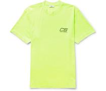 Ridley Logo-print Neon Cotton-jersey T-shirt - Yellow
