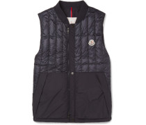 Doubs Slim-fit Quilted Shell Down Gilet