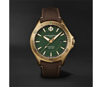 Clifton Club Automatic 42mm Bronze and Suede Watch, Ref. No. M0A10503