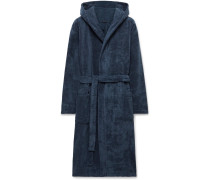 Cotton-Terry Hooded Robe
