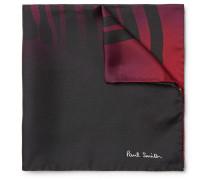 Printed Dégradé Silk Pocket Square